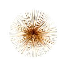 Starburst Wall Décor Gold, 8809122