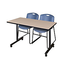 "42"" x 24"" Mobile Training Tabl, 8821525"