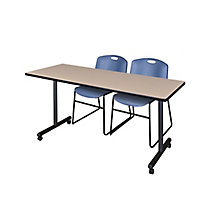 "66""x24"" Mobile Training Table-, 8821852"