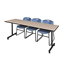 "84""x24"" Mobile Training Table-, 8821864"
