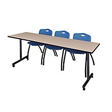 "84""x24"" Mobile Training Table-, 8821865"