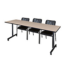 "84""x24"" Mobile Training Table-, 8821866"