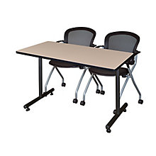 "42""x24"" Training Table- and 2 , 8821869"