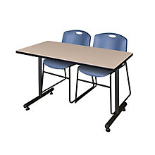 "42""x24"" Training Table- & 2 Ze, 8821870"