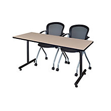 "60""x24"" Training Table Set, 8821908"