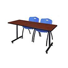 "60""x24"" Training Table Set, 8821910"
