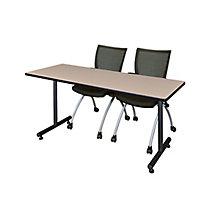 "66""x24"" Training Table Set, 8821918"