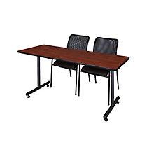 "66""x24"" Training Table Set, 8821922"