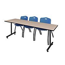 "84""x24"" Training Table Set, 8821943"