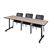 "84""x24"" Training Table Set, 8821944"