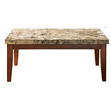 Montibello Marble Top Rectangular Coffee Table, 8806887