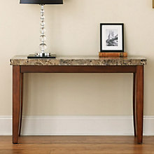 Montibello Marble Top Sofa Entertainment Table, 8806891