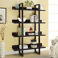 "Four Shelf Bookcase- 71""H, 8801416"