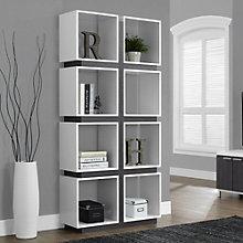 "Eight Compartment Bookcase- 72""H, 8802278"