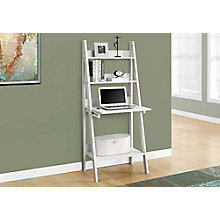 Pull Down Surface Desk With Bookcase, 8801603