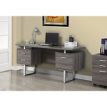 "Raised Top Computer Desk - 60""Wx24""D, 8802279"