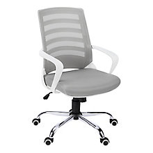 Striped Back Mesh Office Chair, 8829096