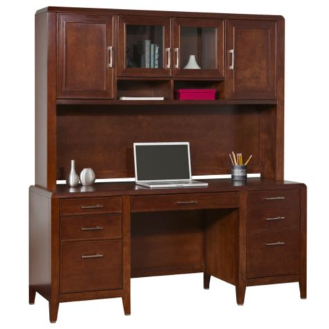 Shown with credenza