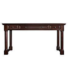 "Traditional Veneer Writing Desk - 60""W x 28""D, 8829224"