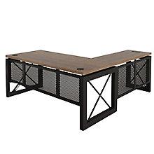 """Reversible L-Desk - 72""""W x 80""""D, 8826879"""