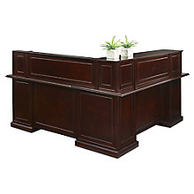 "L-Shape Reception Desk with Right Return - 72""W, 8823111"