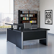 "Adjustable Height L-Desk with Right Return - 60""W, 8827445"