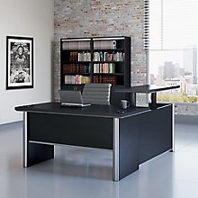 "Adjustable Height L-Desk with Left Return - 60""W, 8827446"
