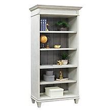 "Hartford Two-Tone Five Shelf Bookcase - 78""H, 8803155"