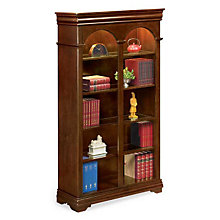 "Ten Shelf Double Arched Bookcase - 78"" H, MRN-PT4678"