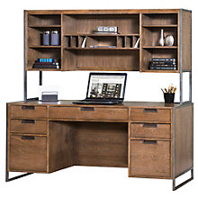 Belmont Credenza with Hutch, 8801974