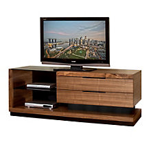 "Media Console with Drawers and Glass Shelves - 70""W, 8802184"