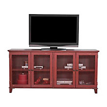 "Sorrento Mesh Door TV Console - 72""W, 8803266"