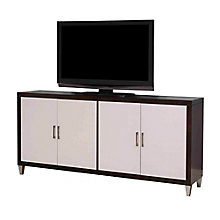 "Preston Two Tone TV Console - 72""W, 8803274"