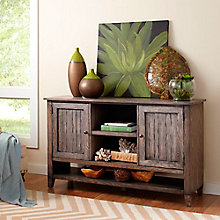 "Harmon Weathered Finish Media Credenza- 60""W, 8803277"