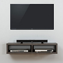 "48"" Shallow Wall Mount TV Component Shelf, 8804333"