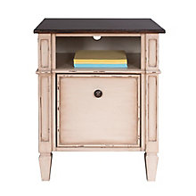 "Baldwin Two Tone One Drawer File - 20""W, 8804417"