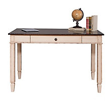 "Baldwin Two Tone Compact Writing Table - 47.5""W, 8804418"