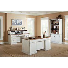 Durham Double Pedestal Desk Set, 8827505