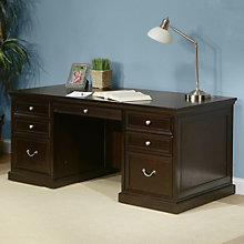 Fulton Wood Veneer Executive Desk, MRN-FL720
