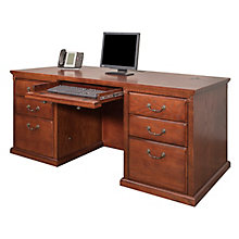 "Double Pedestal Desk - 68""W, 8825929"
