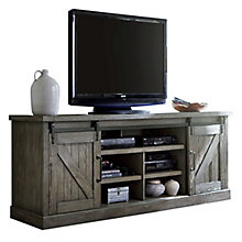 "Avondale Media Console with Sliding Doors - 86""W, 8827226"