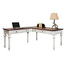 "Durham Reversible L-Shaped Writing Desk- 64""W, 8827503"