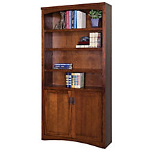 Mission Pasadena Bookcase with Doors, MRT-MP3672D