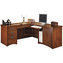 Mission Pasadena L-Desk with Right Return, OFG-LD1125
