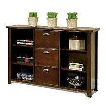 Tribeca Loft Cherry Bookcase File, MRN-TLC504