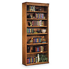 "Wheat Oak Seven Shelf Bookcase - 84""H, MRT-HO3684W"