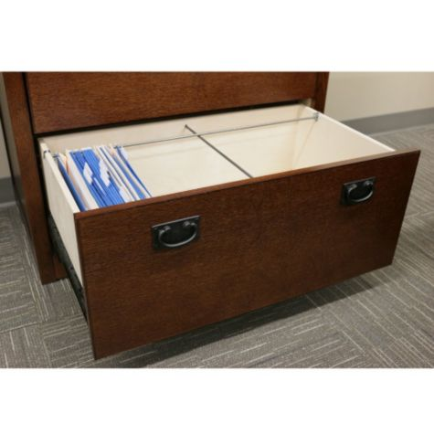 Open file drawer