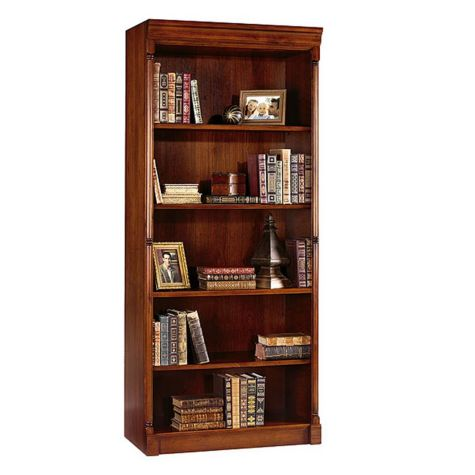 Close up of bookcase
