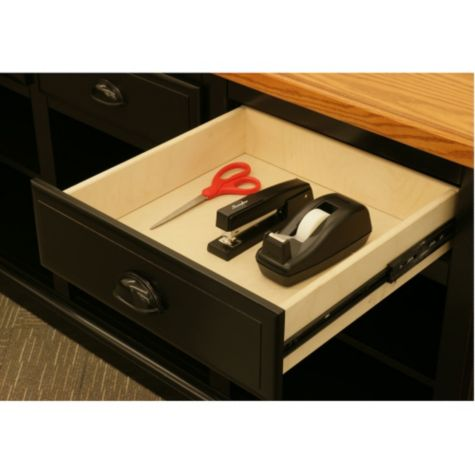 Utility drawer open