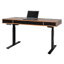 "Motus Two Tone Height Adjustable Desk - 60""W, 8808036"